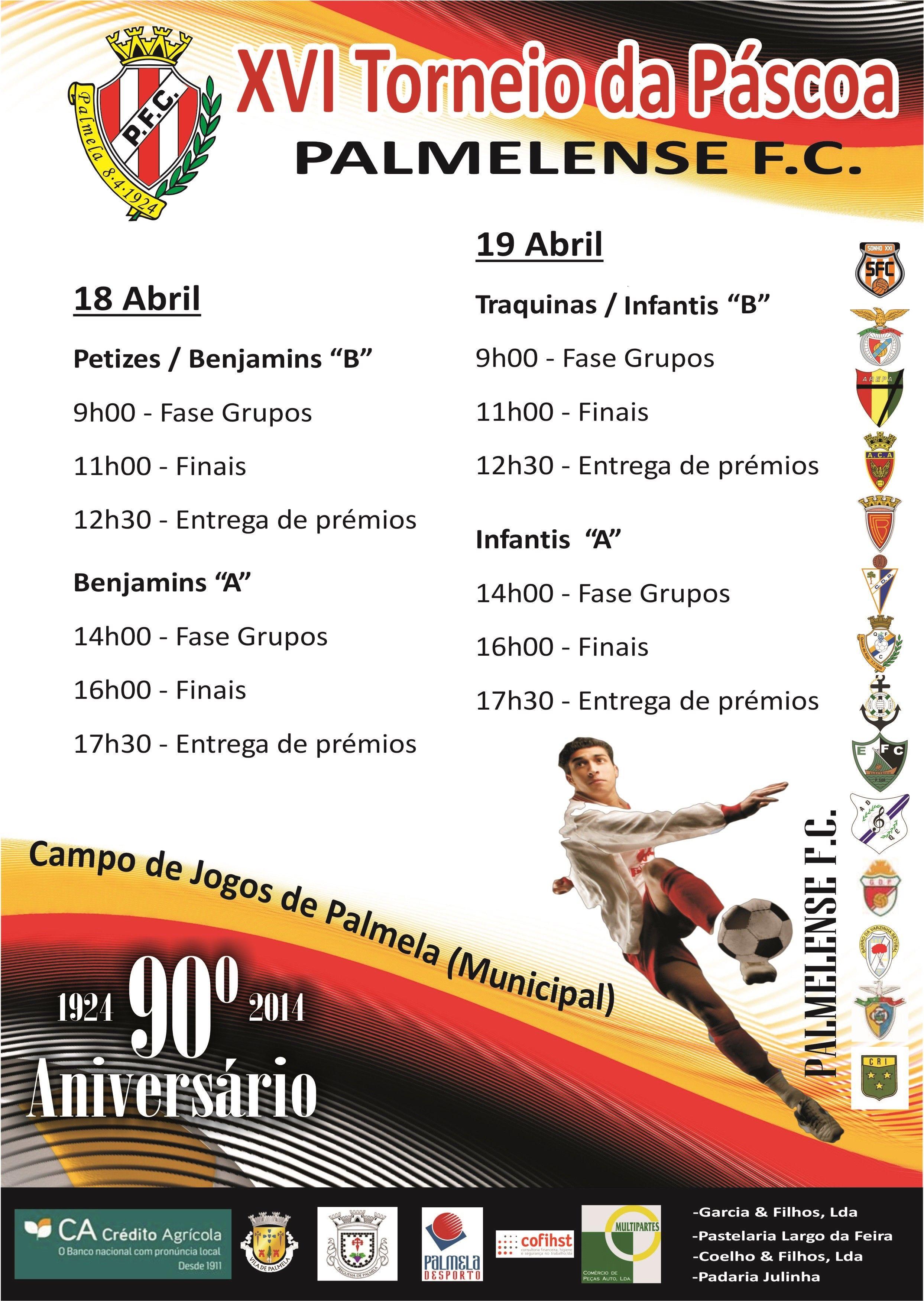 XVI Torneio Páscoa PFC - Cartaz
